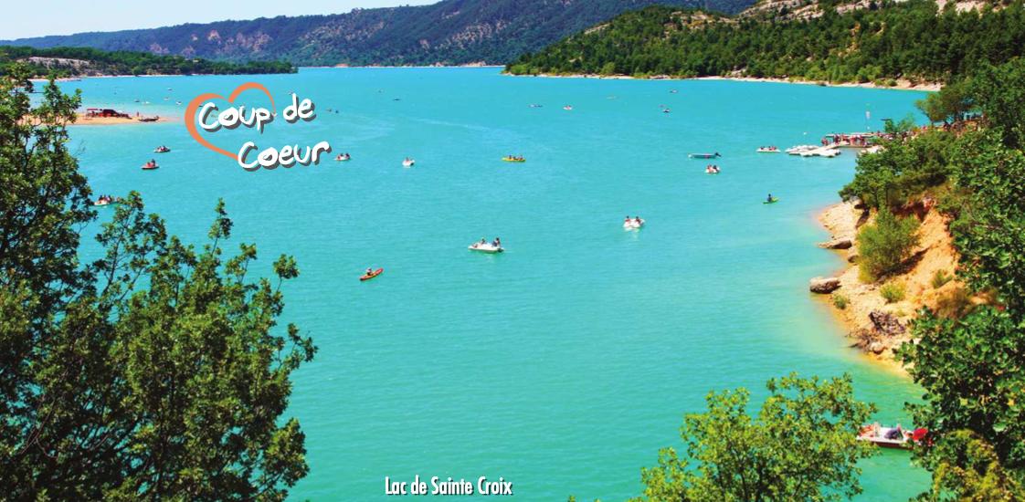 VERDON - LAC DE SAINTE CROIX